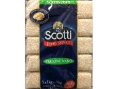 Riso vialone nano sottovuoto 5x1kg Scotti rijst