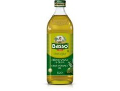 Olio di sansa di oliva glas Basso olijfolie