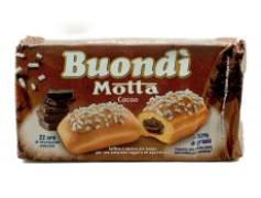 Buondi farcito cacao 6pz Motta zoet