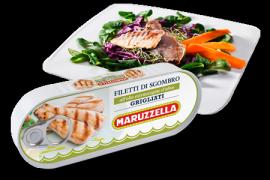 Filetti Sgombro grigliato in olio extra vergine Maruzzella conserven