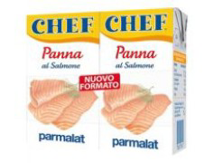 panna da cucina al salmone (2x125ml) Parmalat sauzen & smaakmakers