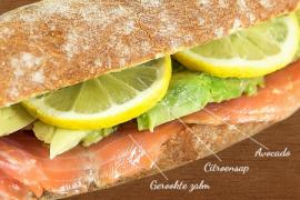 sandwich salmone  sandwiches